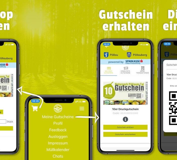 Pöllauer Tal Gutscheine mobil kaufen