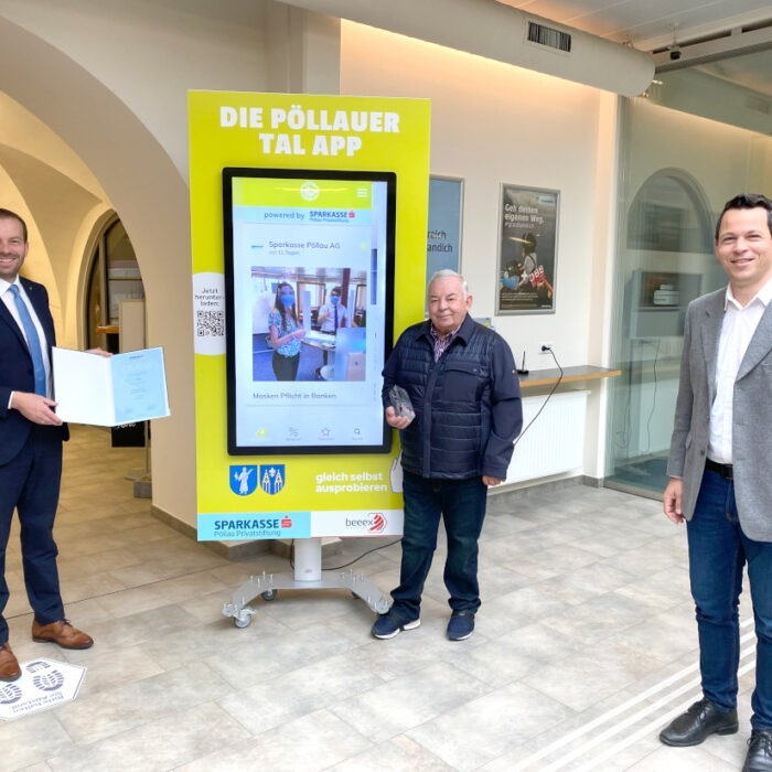 Pöllauer Tal App: 1. Platz beim CIVITAS-Award