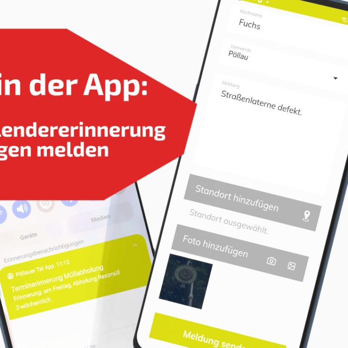 Neue Funktionen für die Pöllauer Tal App